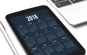 Le calendrier des salons 2018