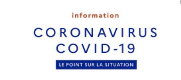 Covid-19 – Fermeture des établissements de formation